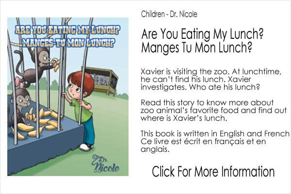 Children's book - Dr Nicole - Are You Eating My Lunch