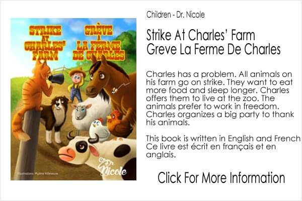 Children's book - Dr Nicole - Strike at Charles Farm
