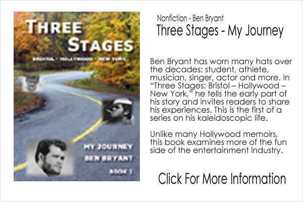 Nonfiction - Ben Bryant - Three Stages